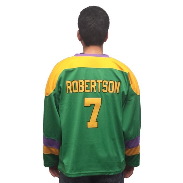Dwayne Robertson #7 Ducks Hockey Jersey