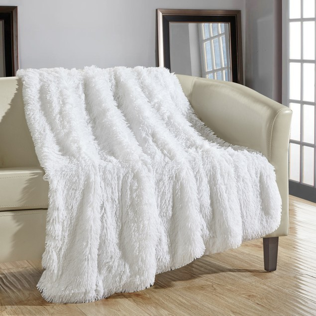 """Chic Home Federick Supersoft Ultra Plush Decorative Throw Blanket 50""""x60"""""""