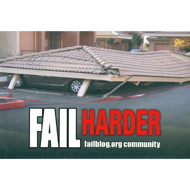 Fail Harder Book, More Humor by Andrews McMeel Publishing