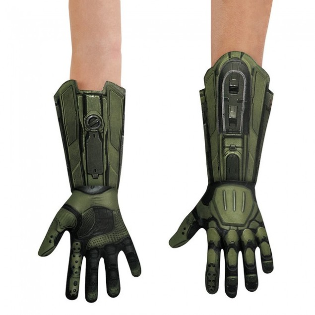 Master Chief Halo Deluxe Adult Gloves