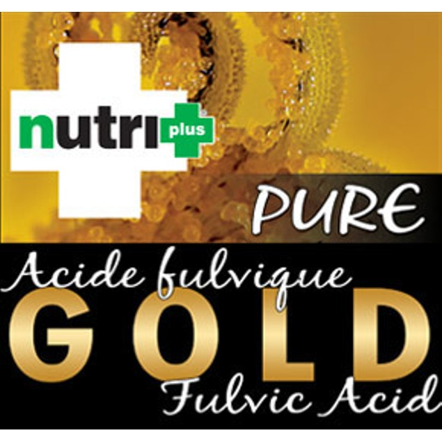 NUTRI+ PURE GOLD FULVIC ACID CONCENTRATED SOLUTION 4 Liter