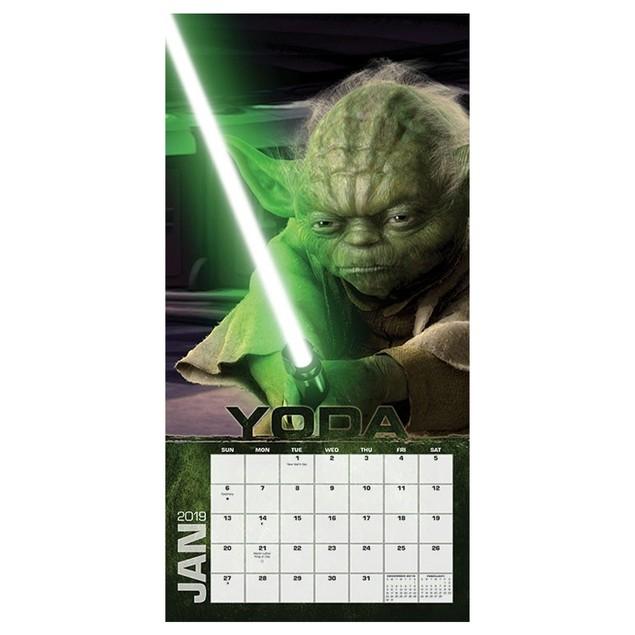 Star Wars 16-Month 2019 Mini Calendar