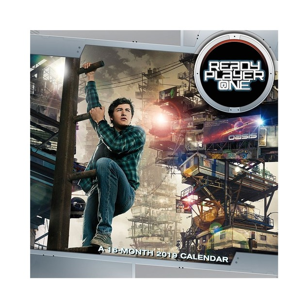 Ready Player One 16 Month 2019 Wall Calendar