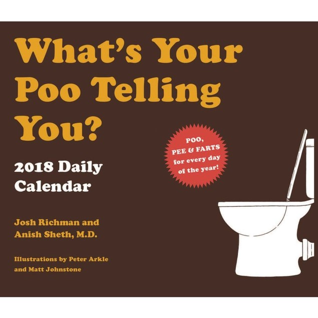 Whats Your Poo Desk Calendar, Mindbenders & Trivia by Calendars