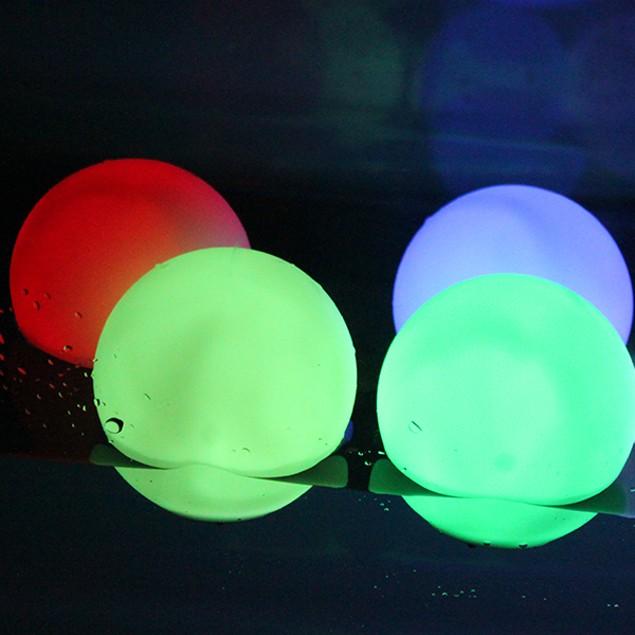 Mood Light Garden Deco flashing Ball LED RGB color changer  Floating Ball