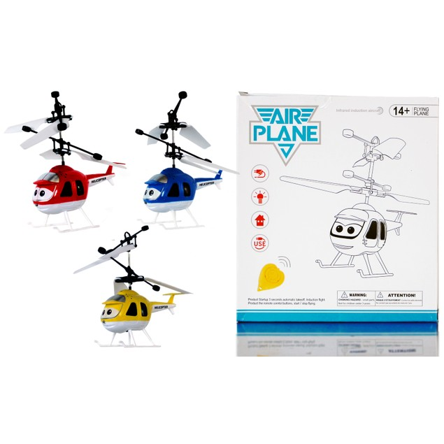 Hand-Controlled Flying Helicopter