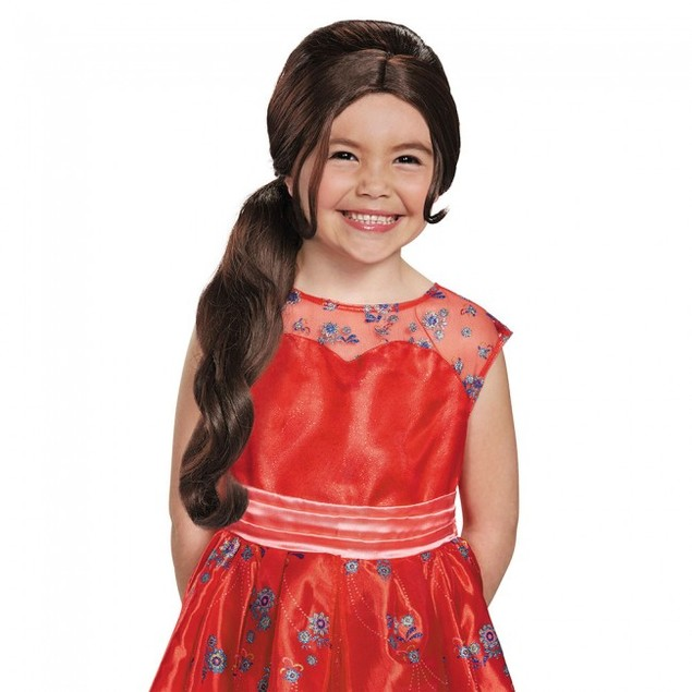 Elena of Avalor Wig Disney Magical Costume Halloween Prop Gift Cosplay Hair