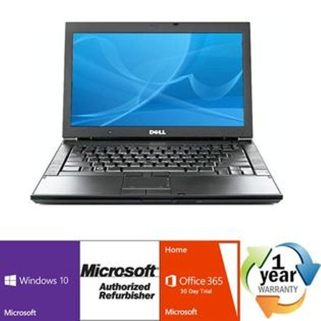"Dell 14"" Latitude E6400 Laptop (C2D 2.4Ghz, 4GB, 160GB, Win 10) - Grade A"