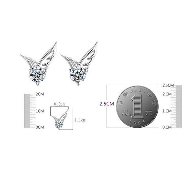 Women's Fashion Elegant Angel Wings Earrings