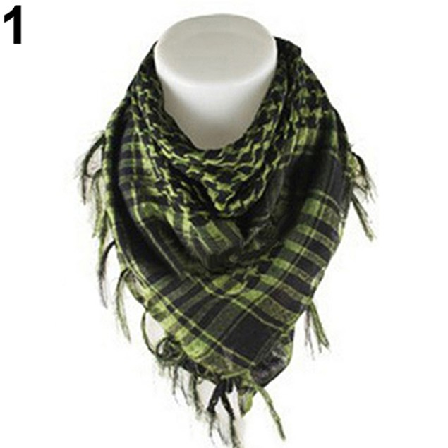 Unisex Lightweight Tactical Desert Army Shemagh Scarf