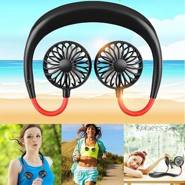 Personal Rechargeable Neckband Cooler/Fan