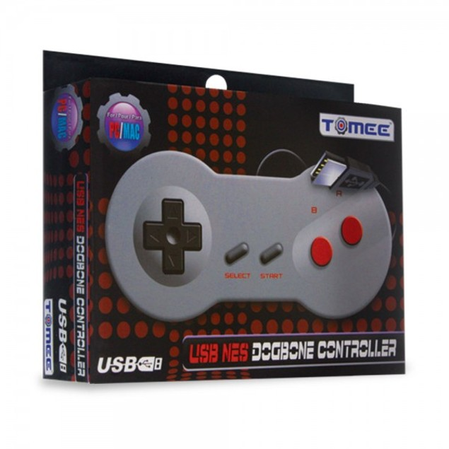 Dogbone NES-Style USB Controller for PC/ Mac - Tomee
