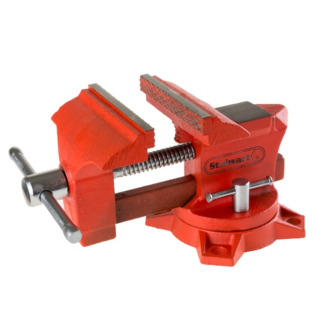 4.5 Inch Jaw Swivel Table Vise By Stalwart