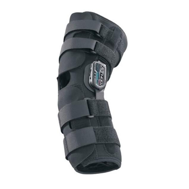 Donjoy Playmaker Standard Neoprene Knee Sleeve with Patella Donut, Medium,