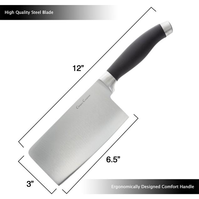 6.5 Inch Chopper Cleaver Stainless Steel Knife