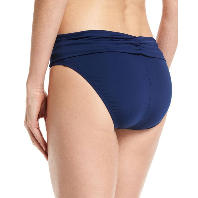 Jantzen Fold-Over Swim Bottom, Blue, Women's, SZ: 8