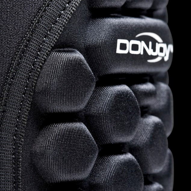 DonJoy Spider Pull-On Knee Pad, Low-profile, Left/Right, Size: Large, Black