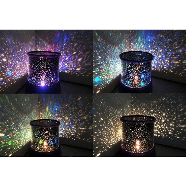 New Romantic Colourful Cosmos Star Master LED Projector Lamp Night Light