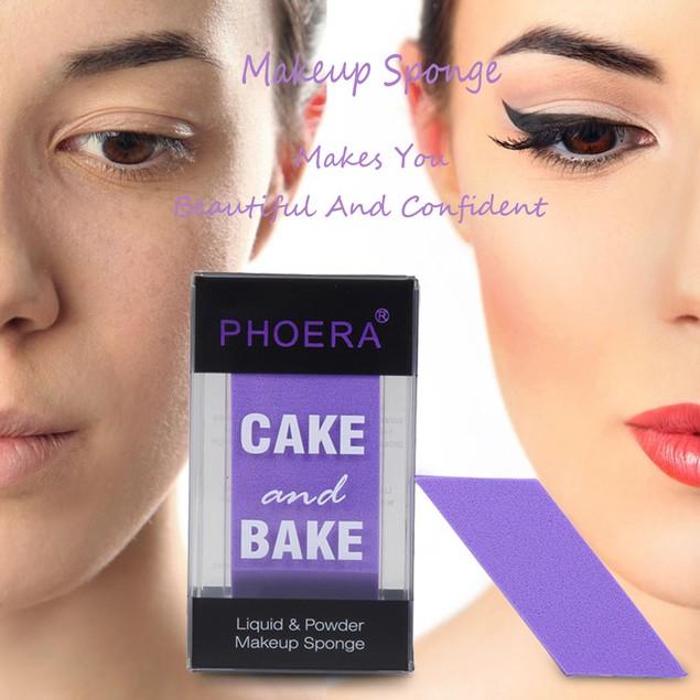 1PC Vogue Beauty Powder Puff Make Up Foundation Face Sponge Makeup Puff