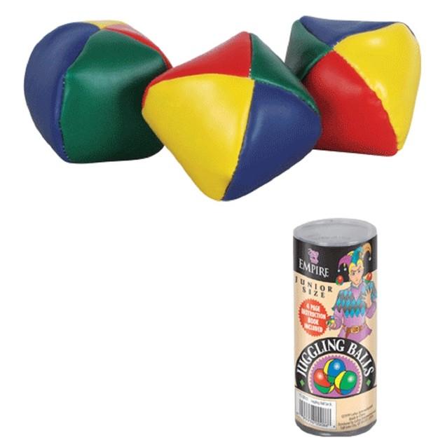 """Juggling Balls Set Jr. 2.25"""" 3 Ball Magician Clown Jesters Junior"""