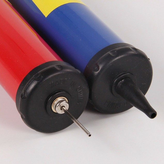 2-Pack Portable Air Pump W/ Pin Needle Basketball Football Soccer Cycling
