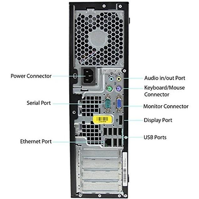 HP 8200 Desktop Bundle (Core i5, 8GB RAM, 250GB HDD, Windows 10)