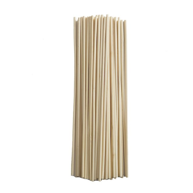 50Pcs Bamboo Plant Grow Sticks Garden Potted Flower Canes Rod Tools