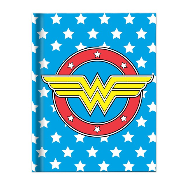 Wonder Woman Uniform Blue Hard Cover Journal