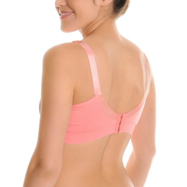 3-Pack Angelina Seamless Nursing Bras With Mesh Detail