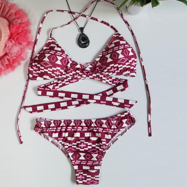 Women Padded Push-up Bikini Set Swimsuit Bathing Suit Swimwear Beachwear