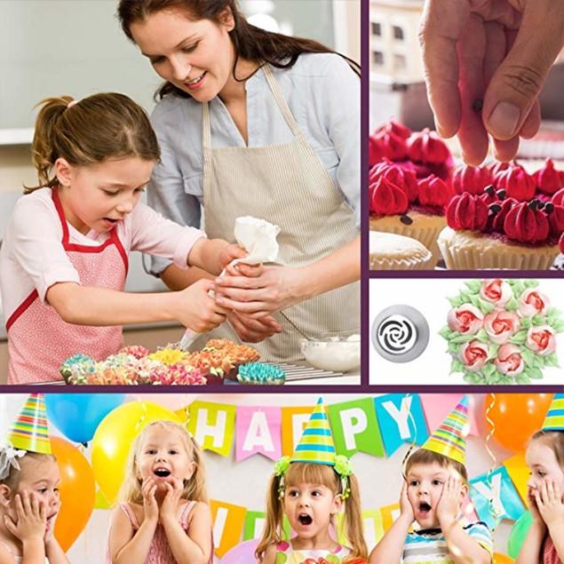 13 Pcs Russian Piping Tips Set -Cake Decorating Tips