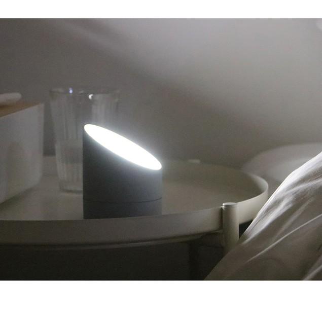 Digital Alarm Clock for Bedrooms, Travel, Kitchen, Desk, Office- Grey