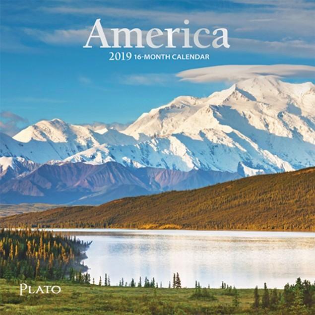 America Mini Wall Calendar, Scenic America by Calendars