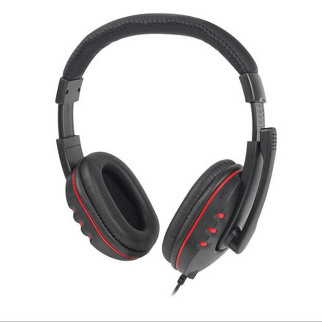 New USB Wired Stereo Micphone Gaming Headphone For Sony PS3 PS4 PC