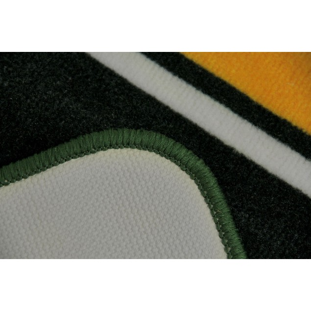 Green Bay Packers 20 By 30 Inch Tufted Non-Skid Floor Comfort Mats