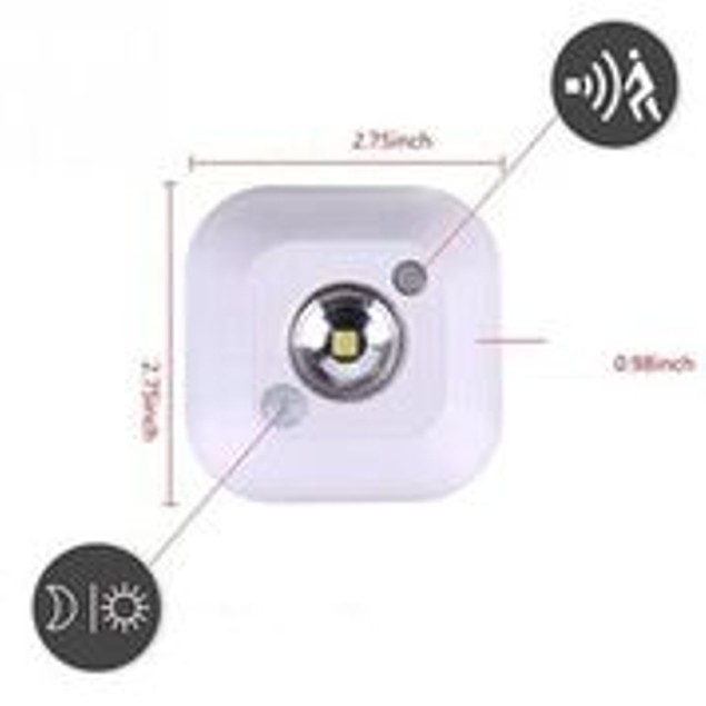 2-Pack Motion Light Detector