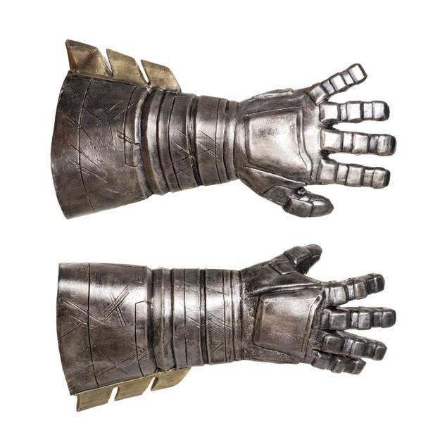 Adult Batman Armored Gauntlets Deluxe Gloves v Superman Dawn of Justice DC