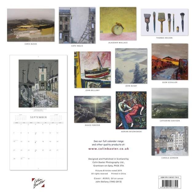 Scottish Artists Wall Calendar, Scotland by Calendars