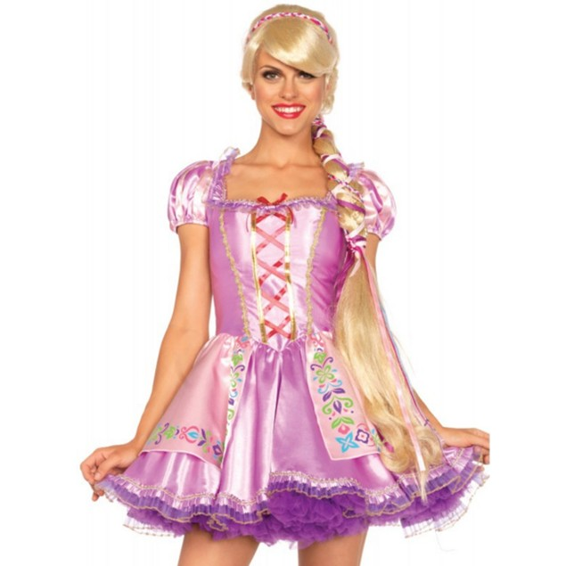 Rapunzel Wig Rapunzel / Tangled Princess Long Blonde Hair Costume Accessory