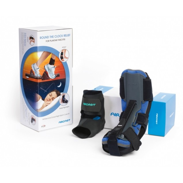 Aircast Airheel/DNS Care Kit for Relief from Plantar Fasciitis, Large