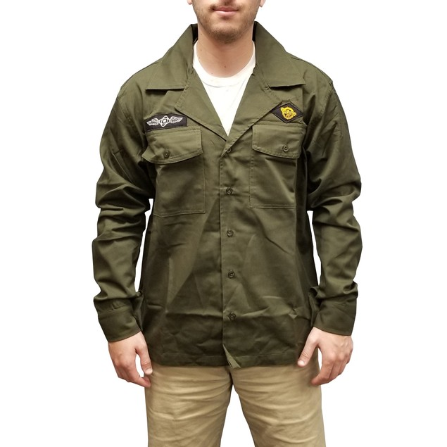 Charlie Day Military Jacket