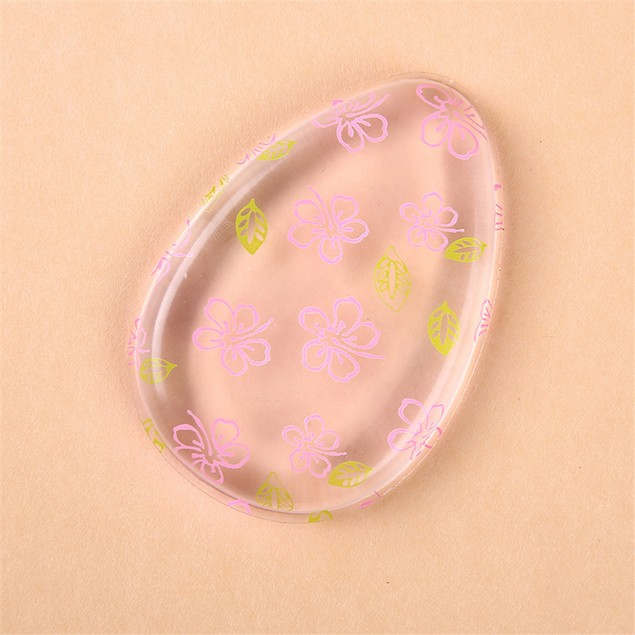 Foundation BB Cream Essential Blender Silicone Sponge Makeup Puff  Y