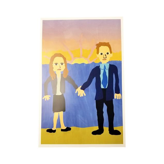 Michael Scott's Painting Jim And Pam Wedding Poster 11 x 17
