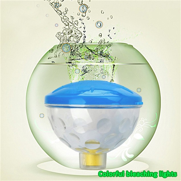 Floating Underwater RGB LED Disco Light Glow Show Hot Tub Spa Lamp