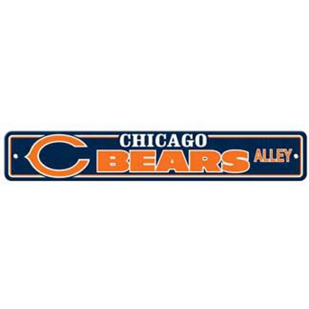 "Chicago Bears Ave Street Sign 4""x24"" NFL Football Team Logo Avenue Man Cave"