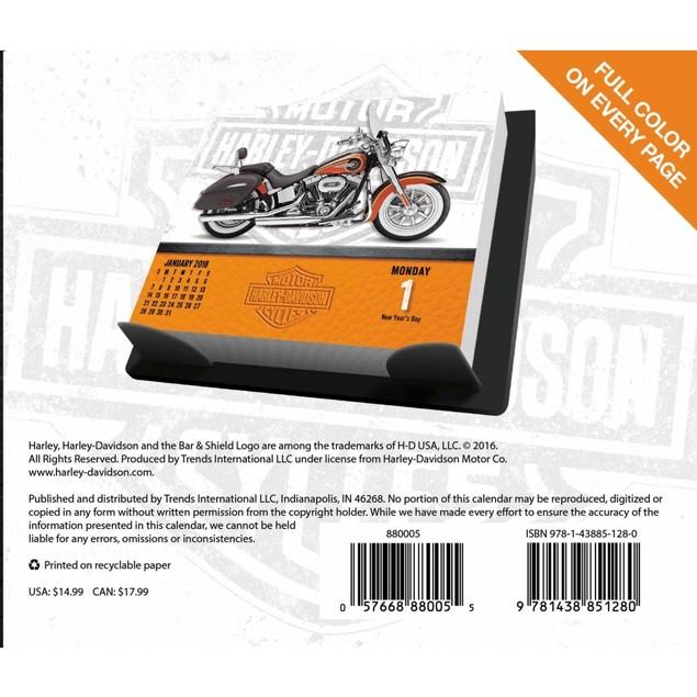 Harley Davidson Desk Calendar, Motorcycles by Calendars