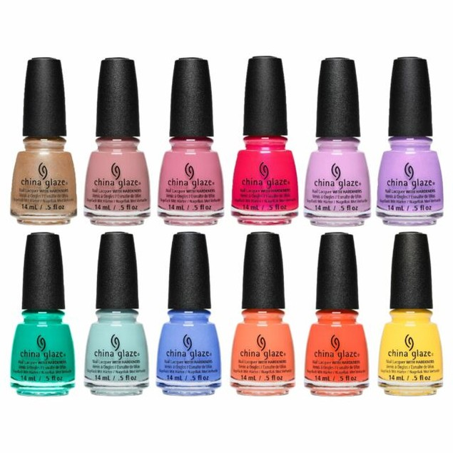 15 BOTTLES - CHINA GLAZE NAIL POLISH MYSTERY DEAL