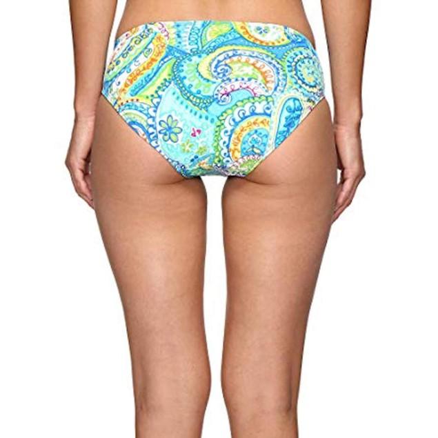 New LAUREN Ralph Lauren Women's Carnival Paisley Ring Hipster Bottom S