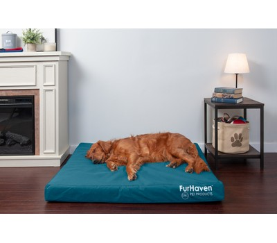 FurHaven Deluxe Cooling Gel Oxford Indoor/Outdoor Pet Bed for Dogs and Cats Was: $274.99 Now: $23.99.