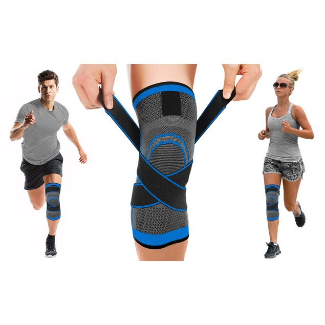 DCF Compression Knee Sleeve with Adjustable Straps